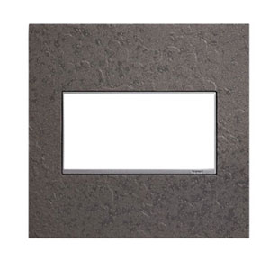 Hubbardton Forge Natural Iron 2-Gang Wall Plate