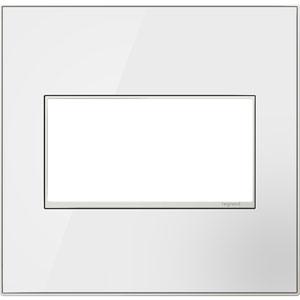White Mirror 2-Gang Wall Plate