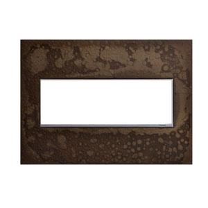 Hubbardton Forge Dark Smoke 3-Gang Wall Plate