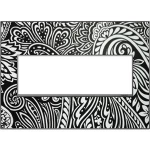 Magnesium Custom Wall Plate 3-Gang Wall Plate with Trim