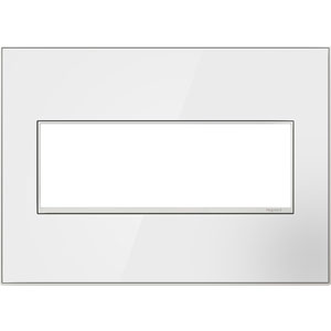 White Mirror 3-Gang Wall Plate