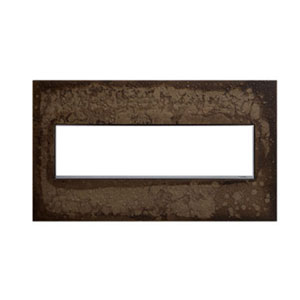 Hubbardton Forge Dark Smoke 4-Gang Wall Plate