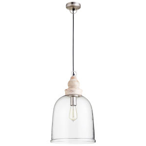 Natural 12-Inch One-Light Pendant