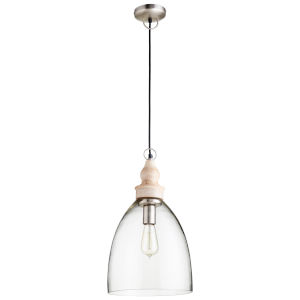 Natural 11-Inch One-Light Pendant