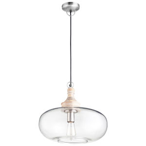 Natural 16-Inch One-Light Pendant