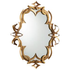 Gold Charcroft Mirror