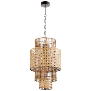 Wickham Rattan 1-Light Pendant