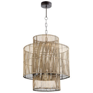 Hammond Rattan 1-Light Pendant
