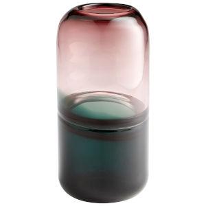 Blush and Green Small Moonsail Vase