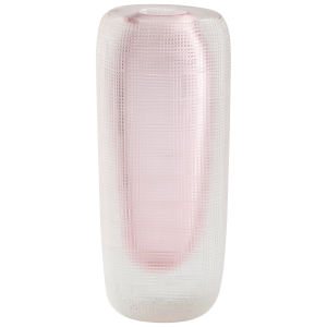 Pink and Clear Neso Vase