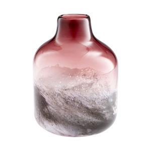 Purple and White Small Perdita Vase