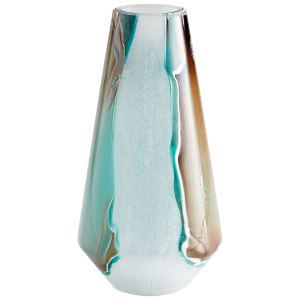Green and White Ferdinand Vase
