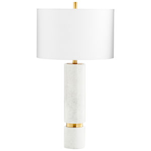 Archer Brass 16-Inch Table Lamp