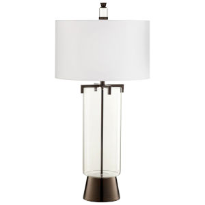 Bronze Bauer Table Lamp