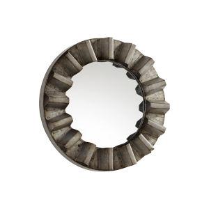 Galvanized 12-Inch Argos Mirror