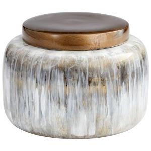 Olive Glaze 10-Inch Spirit Drip Container