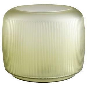 Green 13-Inch Sorrel Vase