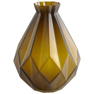 Green 9-Inch Bangla Vase