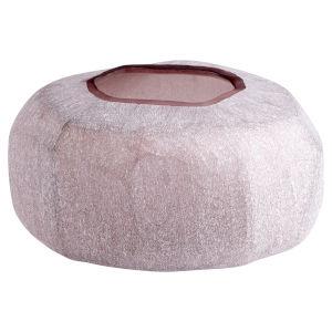Textured Plum 10-Inch Vervain Vase