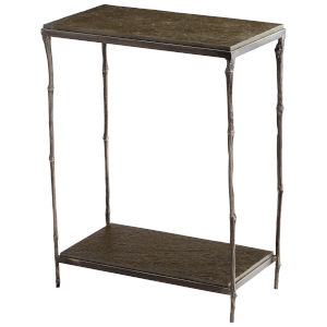 Natural Iron Linden Side Table