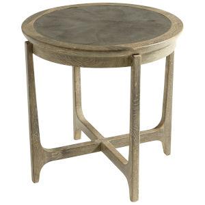 Weathered Oak Ostia Side Table