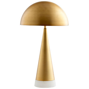 Aged Brass Acropolis Table Lamp