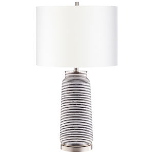 Satin Nickel Bilbao Table Lamp