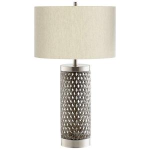 Satin Nickel Fiore Table Lamp