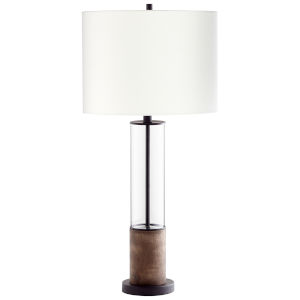 Gunmetal Colossus Table Lamp