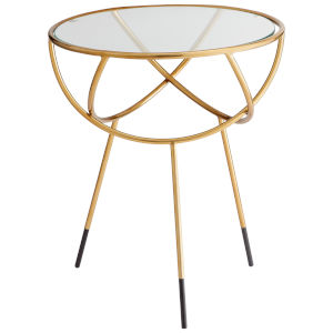 Gold Gyroscope Side Table
