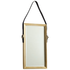 Antique Brass Long Venster Mirror
