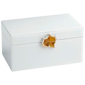 White 14-Inch Bijou Container