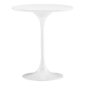 Wilco White and Fiberglass Side Table
