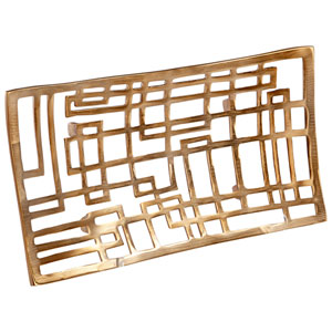Antique Brass Small Circuit Board Tray
