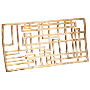 Antique Brass Large Circuit Board Tray