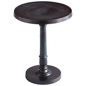 Bronze and Blue Emerson Table