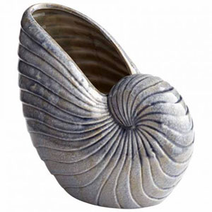 Small Rippled Shell Vase