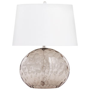 Smoked Gray Sturgeon Table Lamp