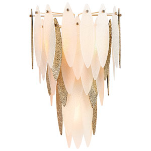 Satin Gold Wall Sconce