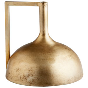 Bronze Domed Decor Vase