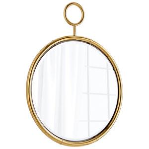 Brass Circular Mirror
