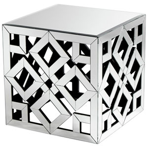 Clear Gemma Side Table