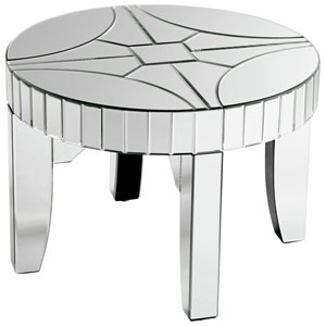 Clear Rennay Side Table