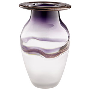 Purple Earth and Sky Vase