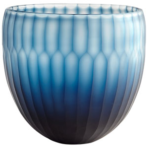Blue Large Tulip Bowl