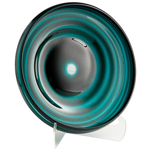 Teal Medium Vertigo Plate