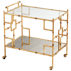 Gold Molly Martini Bar Cart
