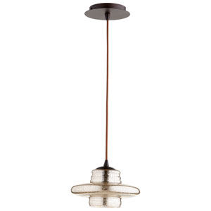 Celeste One-light Crackled Bronze Pendant