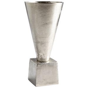 Mega Raw Nickel 17.25 In. Vase