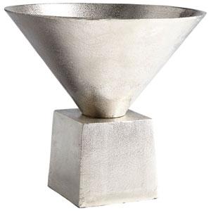 Mega Raw Nickel 11.25 In. Vase